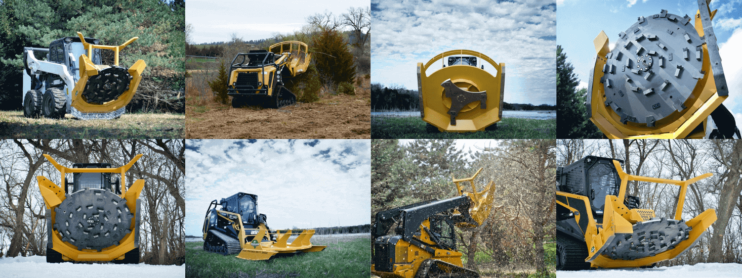 Nashville land clearing and forestry mulching
